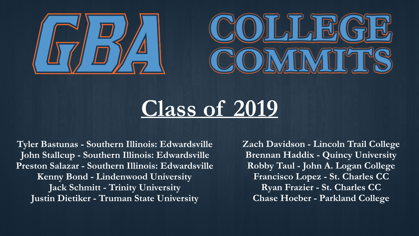 2019 Committed List