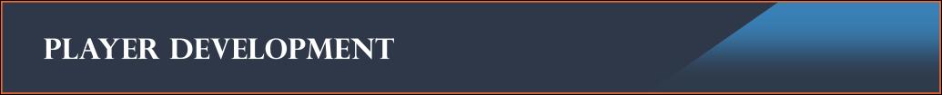 Player Development Banner