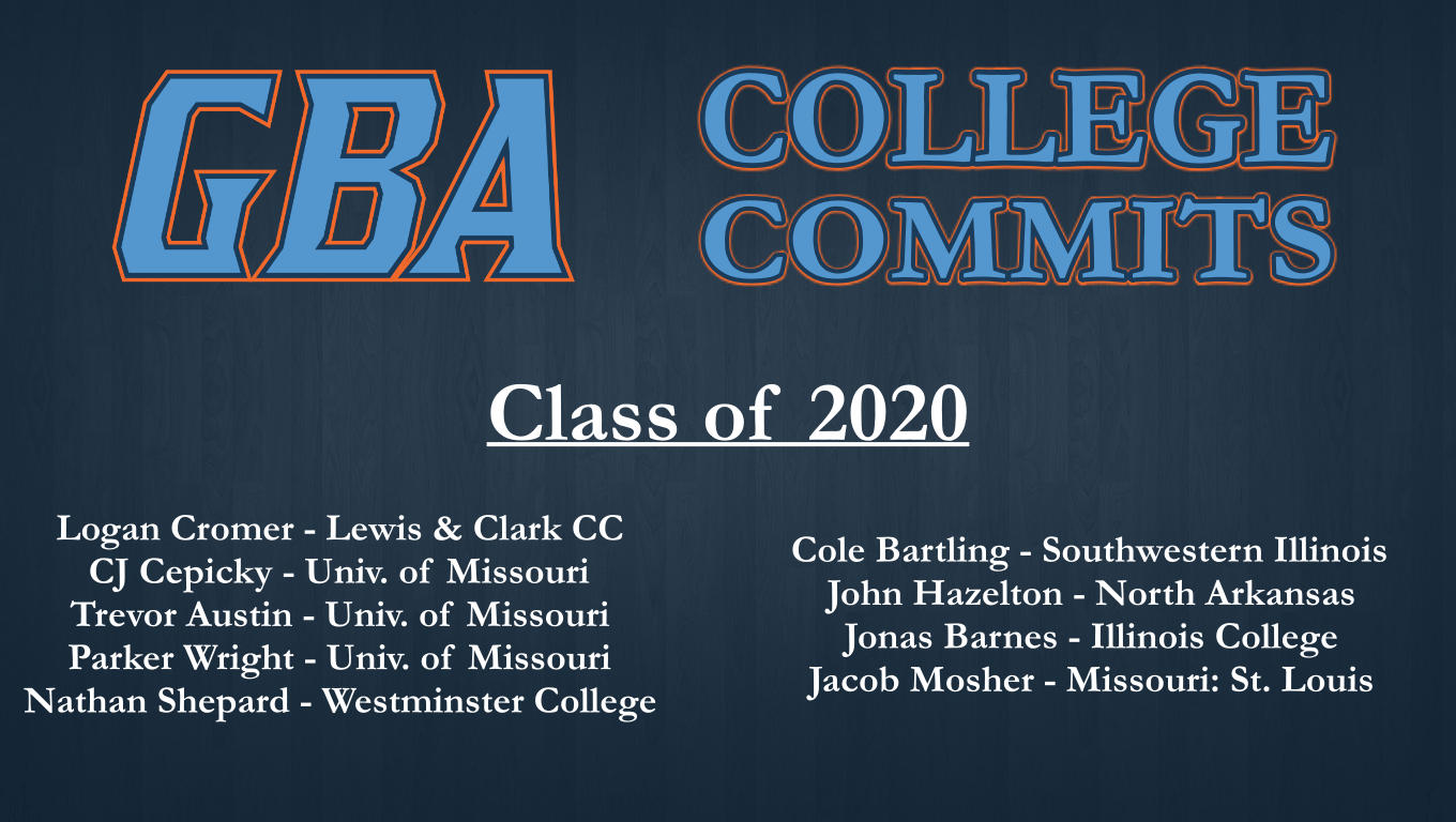 2020 Committed List