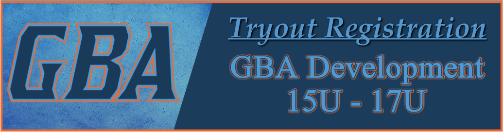 21 GBA Tryouts Banner