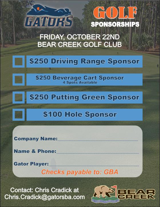 2021 Golf Sponsorship