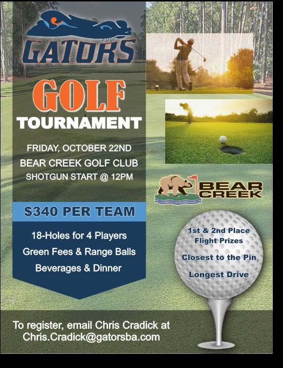2021 Golf Tournament Flyer