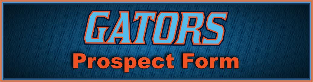 Gators Prospect Form